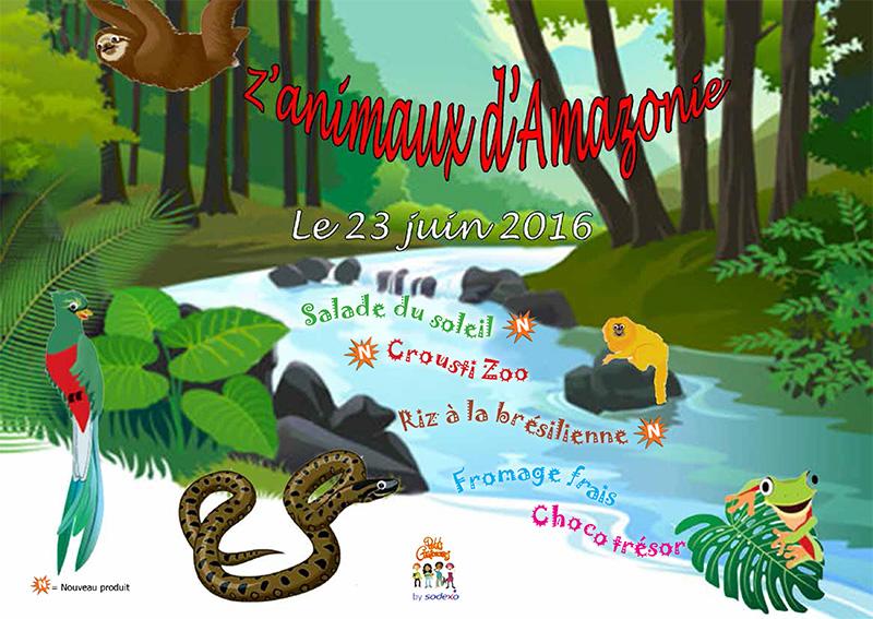 Animaux-amazonie