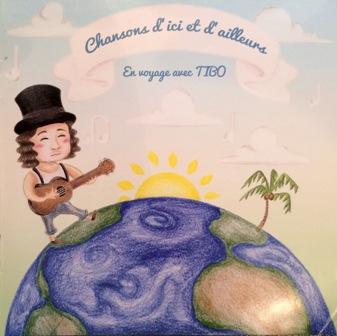 en voyage avec tibo bd